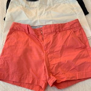 3 pairs of Tommy Hilfiger shorts, size 4